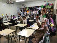 Pascua de Resurrección,Escuela Santa Rosa D Nº 536, Temuco
