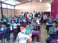 Entrega de agendasEscuela Básica Arturo Alessandri Palma, Ovalle