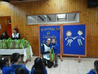 Entrega de Zapatos Colegio Santa María, Puerto Montt